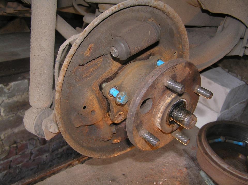 Замена передней ступицы на форд мондео 4 своими руками